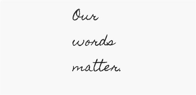 our-words-matter